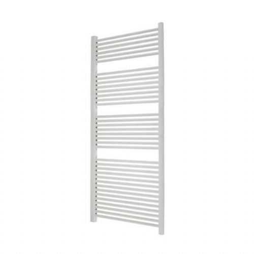 Abacus Elegance Linea Straight Towel Rail - 1700mm x 600mm - White